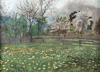 baumblüte by carl reiser