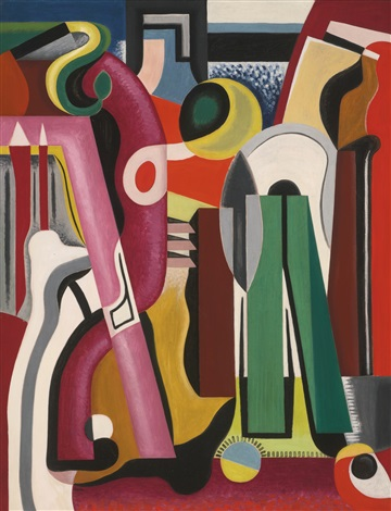 composition grande vitesse by auguste herbin