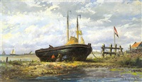 riviergezicht by johan conrad greive