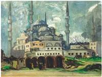 sultanahmet camii by ibrahim safi