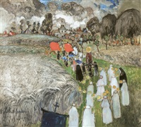 procession by albert saverys