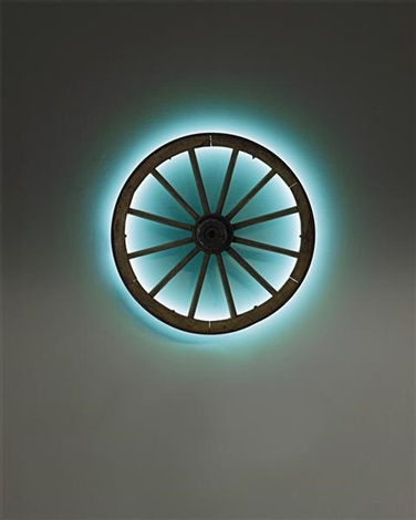 wagon wheel by anselm reyle