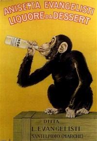 anisetta evangelisti liquore da dessert (poster) by carlo biscaretti di ruffia