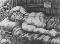 man resting by david fredenthal