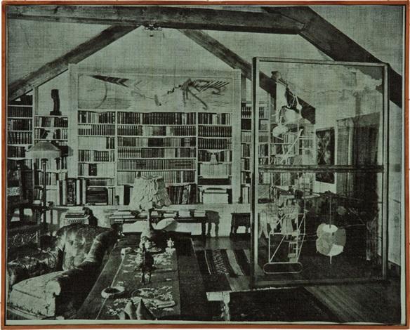 katherine dreiers room by richard pettibone