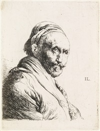 bust of an old man by jan lievens
