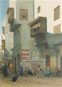binnenplein te kairo: on an oriental square by willem de famars testas