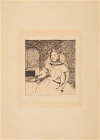 l'infante marguerite by édouard manet