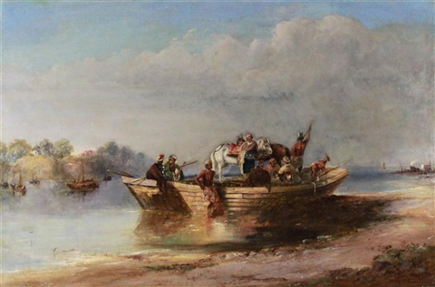 on the river india by charles sir doyly