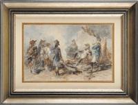 l'intérrogatoire du paysan durant les guerres révolutionnaires by edouard armand-dumaresq