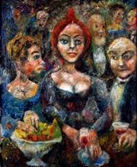 les barmaids by édouard joseph goerg