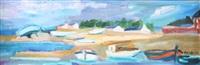 marée montante près de quiberon by marie astoin