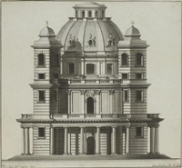 the façade of a church by joseph rabel