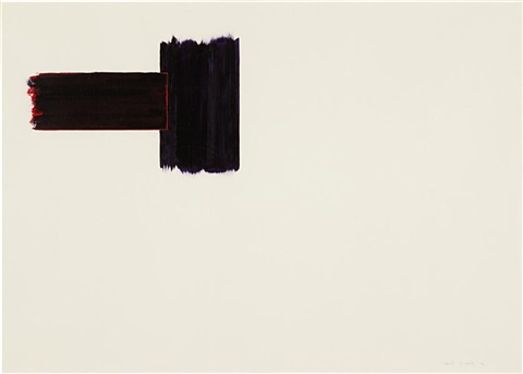untitled abstract by anne truitt