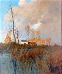 paysage d'automne by alexandre jacob
