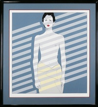 venetian blinds by patrick nagel
