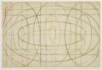 colombe (+ composition with ovals; 2 works) by david row