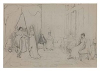 a social waif (study for a social eddy) by sir william quiller orchardson