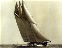 "the schooner yacht ""atlantic"" by charles e. bolles"