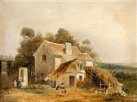 à la campagne by charles-louis lesaint