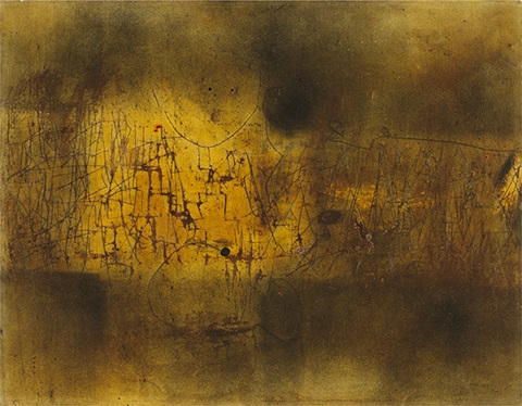 Painting On Glossy Paper By Antoni Tapies On Artnet