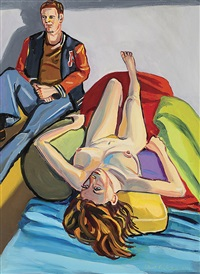 noontime couple by stewart angus macfarlane