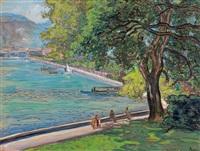bord du lac by jean misceslas peské