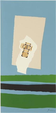 lakerol with black stripe by robert motherwell