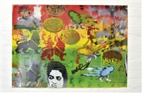 untitled (keep on trucking rasta) by greg hilleard and andrew mcdonald