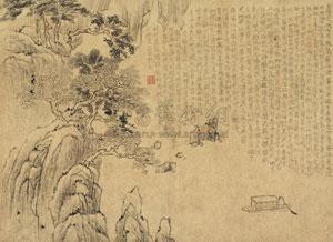 赤壁夜游图 by jin nong