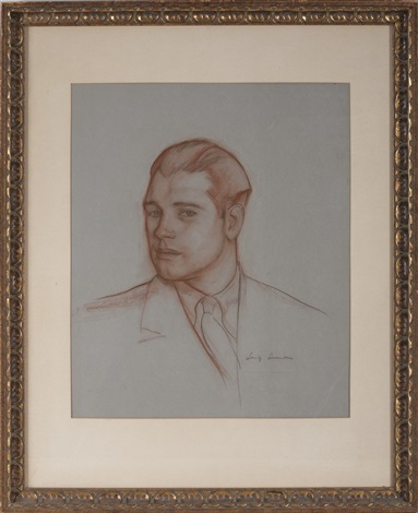 portrait of bob by luigi lucioni