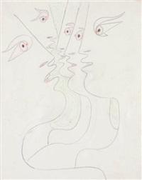 cinq profils by jean cocteau