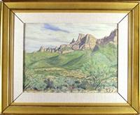near tubac, arizona by chester leich