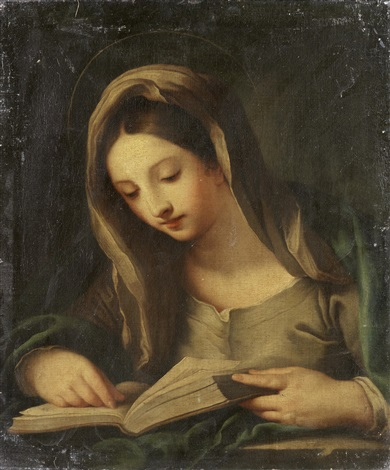 the madonna annunciate by carlo maratta