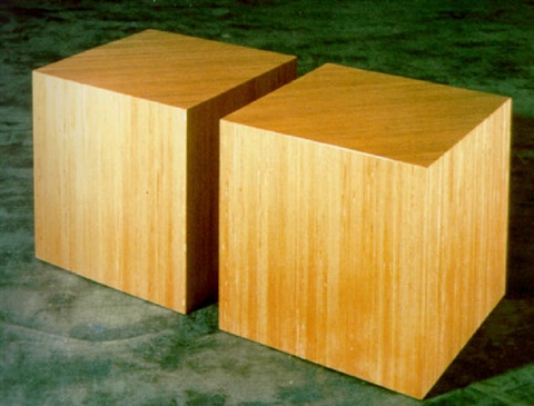 plywood cubes by scott burton
