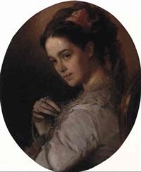 portrait of madame a. suvorina by ivan nikolaevich kramskoy