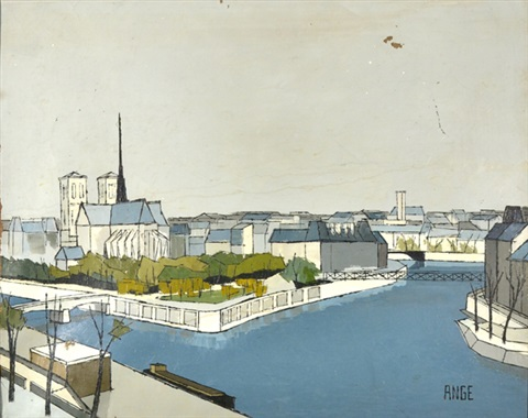 notre dame cathedral by paul angé nocquet