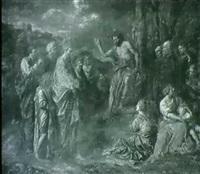 la predication de saint jean baptiste by jean-baptiste corneille
