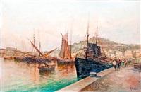 mediterrán kikötő by raimondo scoppa