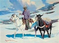winter trail by robert wagoner
