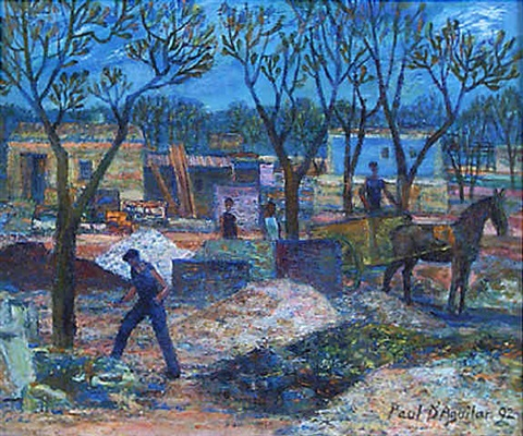workers in the sun majorca by paul d aguilar