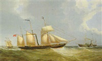 steamships and a schooner by john livingstone