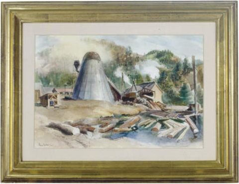 at the saw mill by barse miller