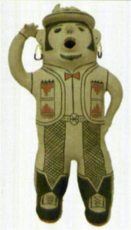 cochiti singing figure by martha arquero