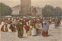 markttag by johann nepomuk geller