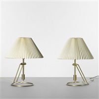 table lamps (model 305) (pair) by le klint