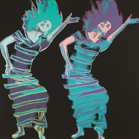 martha graham satyric festival song by andy warhol