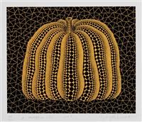 a pumpkin (y) 南瓜 by yayoi kusama