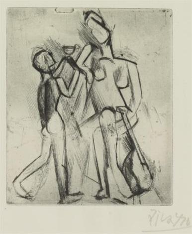 deux figures nues by pablo picasso