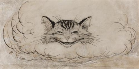 the cheshire cat by arthur rackham